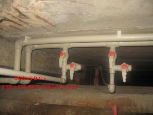 системы водопровода в частном доме