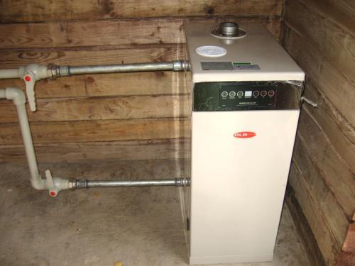 Монтаж котла отопления, отладка и запуск системы
