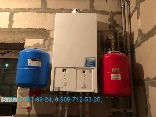 Система отопления в загородном доме. Проектирование, монтаж и запуск 2